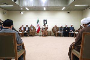 دیدار مسئولان دفتر تبلیغات اسلامی حوزه علیمه قم با رهبر معظم انقلاب(مدظله)